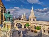 Vissersbastion van Boedapest in Hongarije