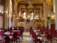 Budapest Cafe Alexandria v Maďarsku