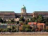 Budapešťský hradní vrch v Maďarsku