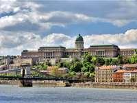 Wzgórze Zamkowe w Budapeszcie na Węgrzech