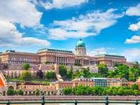 Colina del Castillo de Budapest en Hungría