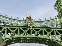 Ponte da Liberdade de Budapeste na Hungria