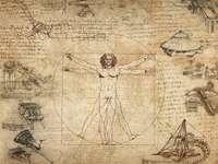 De man van Vitruvius