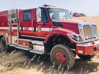 Camión de incendios forestales de California