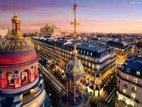 Francie, Paříž, domy