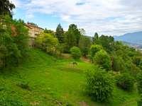 De aard van het Bergamo-gebied
