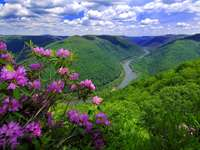 Munți, râu