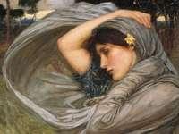 """Boreas"" (1903) от Джон Уилям Уотърхаус"