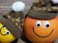 Orange, Zitronenlächeln