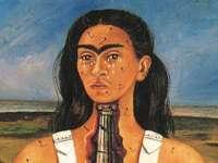 """The Broken Column""( 1944) Frida Kahlo"