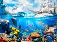 Lumea subacvatica.