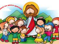 Jesus a special friend