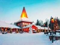 vesnice santa claus ve finsku
