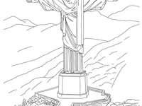 Puzzle Kristus Vykupitel