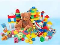 olika leksaker