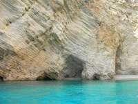 Jaskinia na Korfu