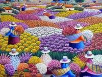 Virágtenger