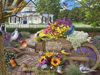Птици и цветя