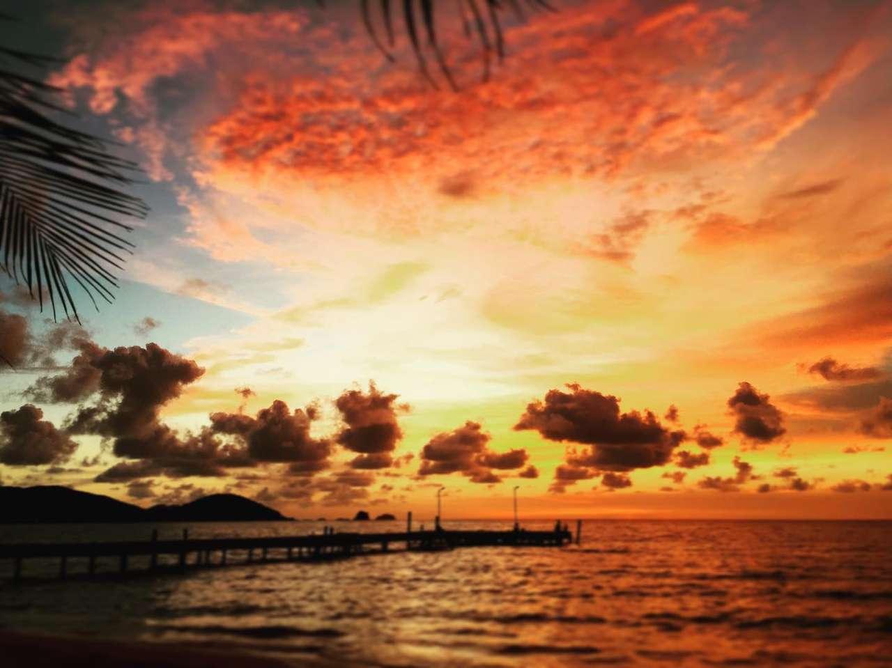 Tramonto mozzafiato - Vita dell'isola