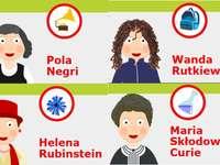 famous Polish women