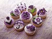 muffins roxos