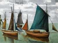 """""""Рибарските лодки"""" на Бернар Бъфет (1972)"""