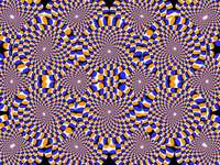 eine Illusion, die bunt ist