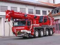 Γερανός πυροσβεστικής