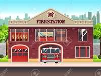 Παζλ πυροσβεστικού σταθμού