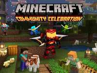 Minecraft community celebration