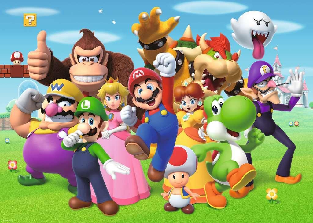 Παζλ Super Mario