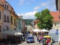 Sighisoara city in Romania jigsaw puzzle