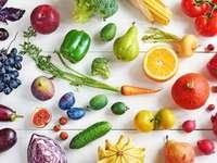 Owoce i warzywa puzzle online
