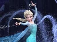 Reina de hielo elsa