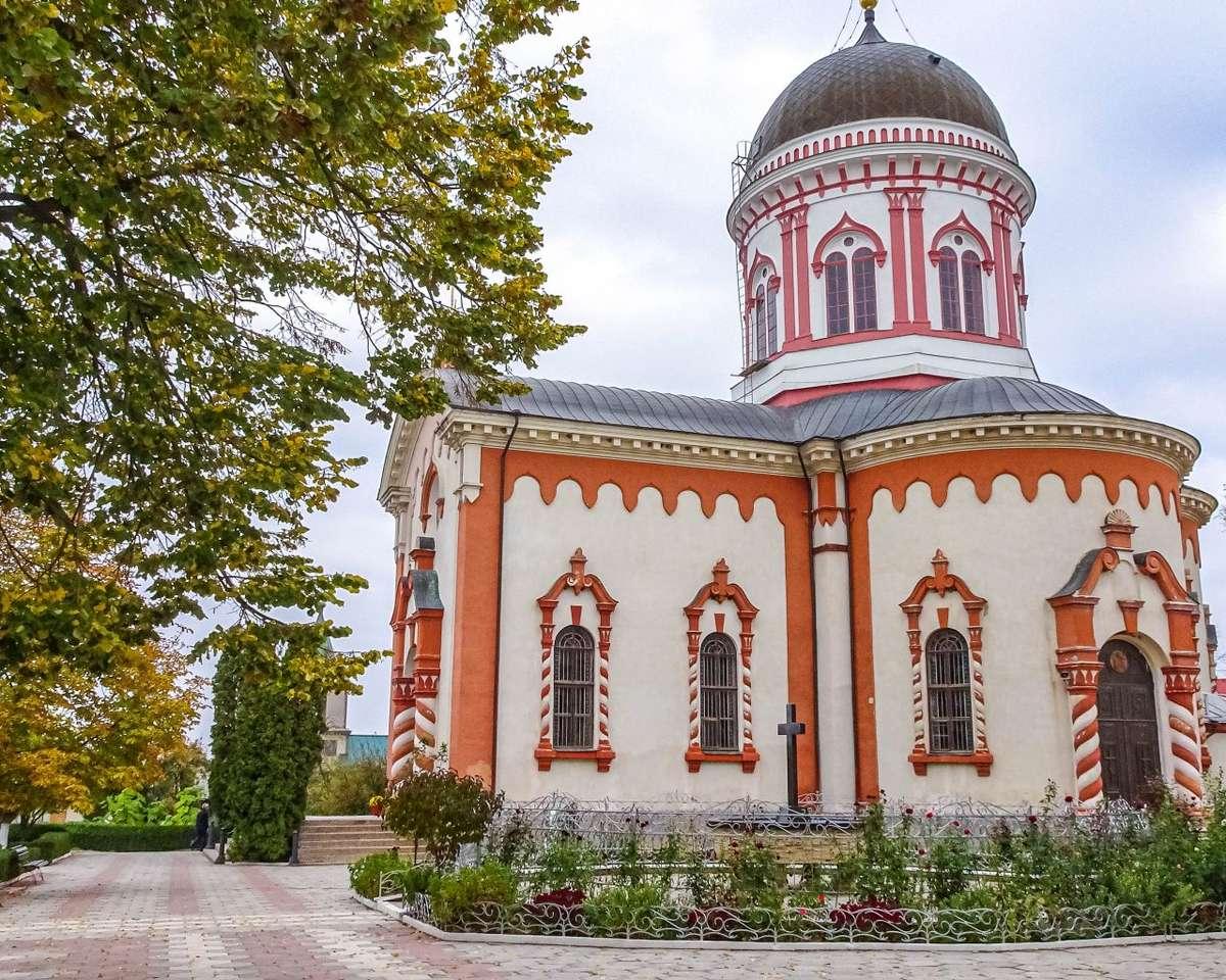 Kyrka byggnad i Moldavien pussel