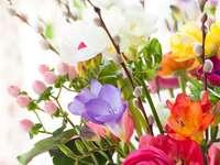 Pasen Kleurrijk Pasen-boeket