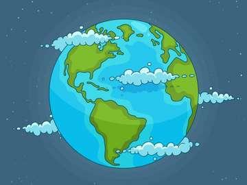 Föld puzzle