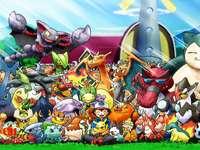 Alle pokemones.