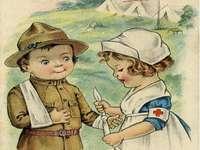 Malá zdravotní sestřička