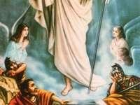 Pasen-ernstige opstanding van Jezus