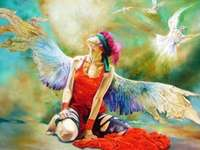 """Angel Girl"" de Vladimir Kuklinski"