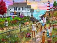 Beach Path puzzle