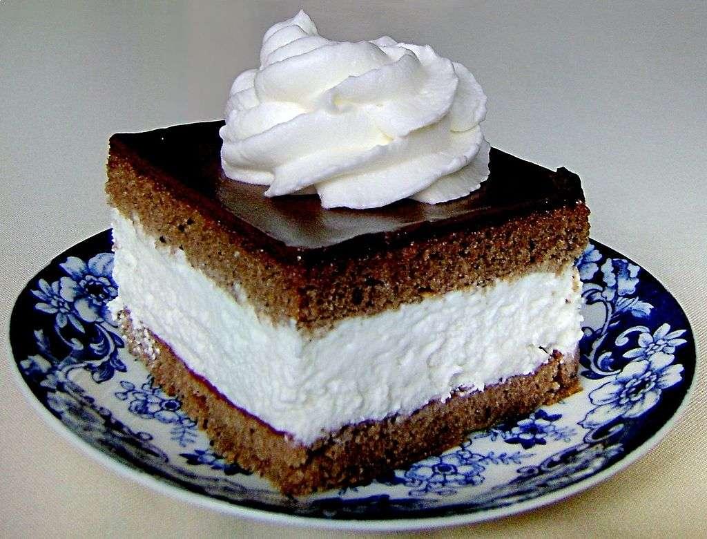Κέικ κακάου με κρέμα ......