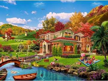 Dom na rzece