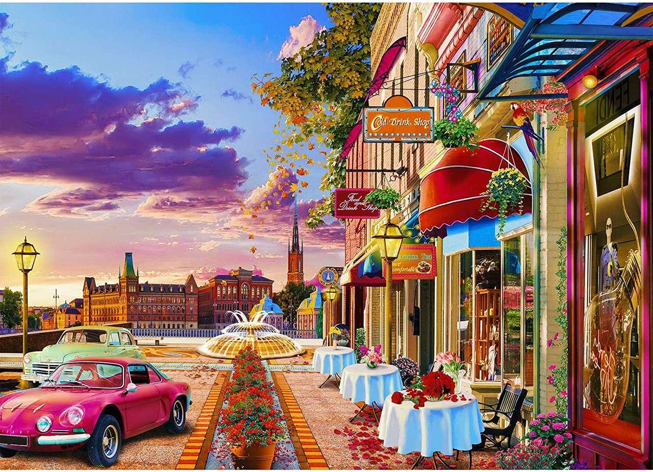 Vivre dans la petite ville puzzle