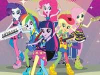 Girls Equestria: Rocks Rainbow!