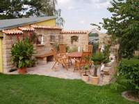 Backyard Terrace.