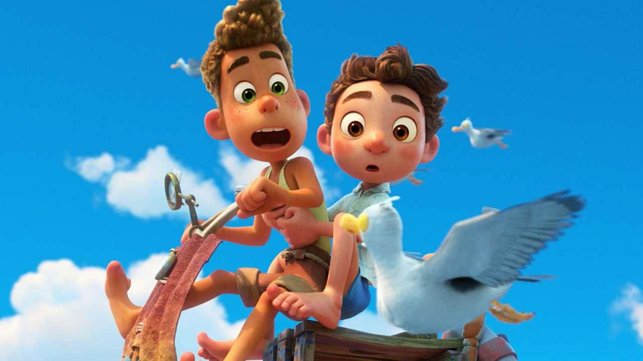 Disney и Pixar's Luca's Luca пъзел
