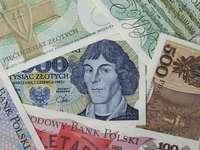 Mikołaj Copernicus pe bancnote