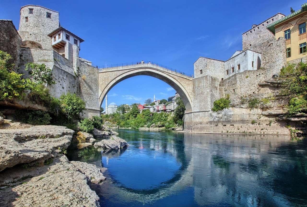 Oude brug in Mostar